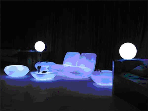 Glowing Patio Furniture Patio Furniture With Lights