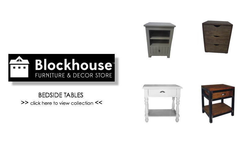 Blockhouse :: Bedside Tables