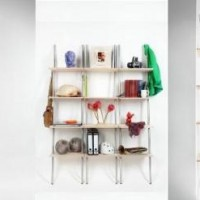 Komos Shelving :: funky, lightweight and beautiful shelves!
